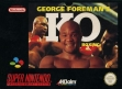 logo Emulators George Foreman's KO Boxing [Europe]