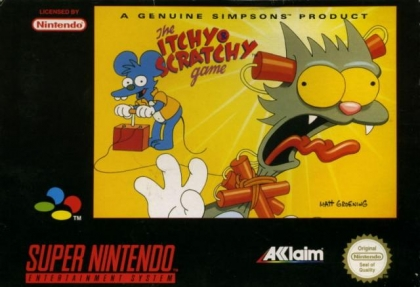 The Itchy & Scratchy Game [Europe] image