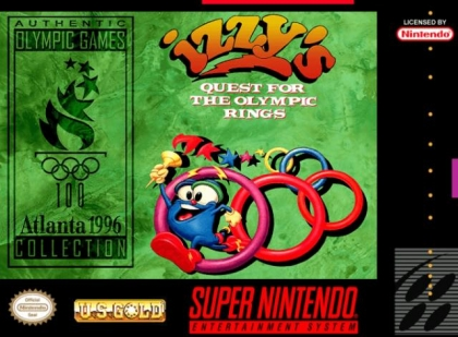 Izzy's Quest for the Olympic Rings [USA] image
