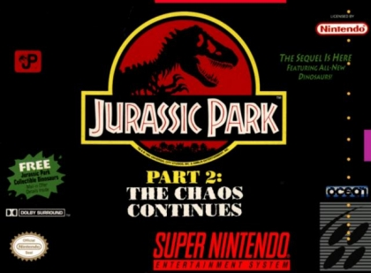 Jurassic Park Part 2 : The Chaos Continues [USA] (Beta) image