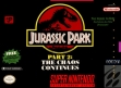 Logo Emulateurs Jurassic Park Part 2 : The Chaos Continues [USA]