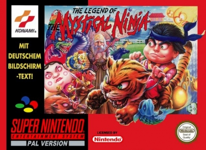 The Legend of the Mystical Ninja [Europe] image