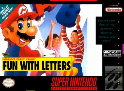 Mario's Early Years : Fun with Letters [USA] image