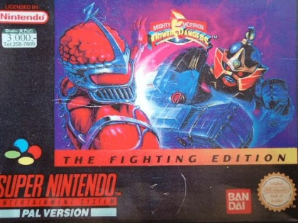 Mighty Morphin Power Rangers : The Fighting Editio [Europe] image
