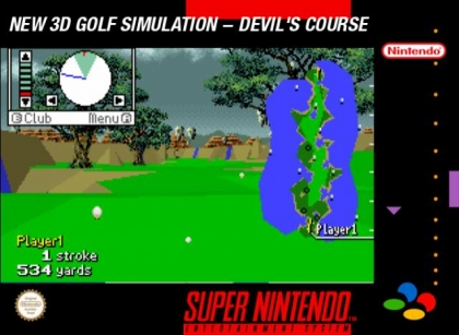 New 3D Golf Simulation : Devil's Course [Japan] - Super Nintendo