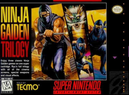 Ninja Gaiden Trilogy Usa Super Nintendo Snes Rom Download