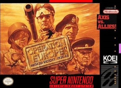 Operation Europe : Path to Victory 1939-45 [USA] image