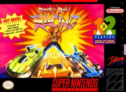 Rock n' Roll Racing [Europe] image