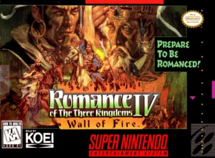 Romance of the Three Kingdoms IV : Wall of Fire [USA] image