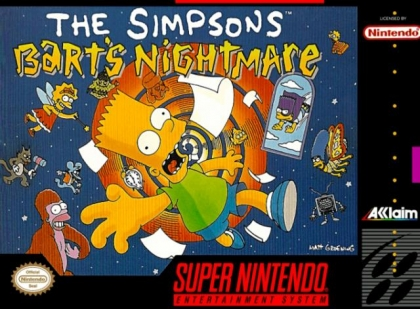 The Simpsons : Bart's Nightmare [Europe] image
