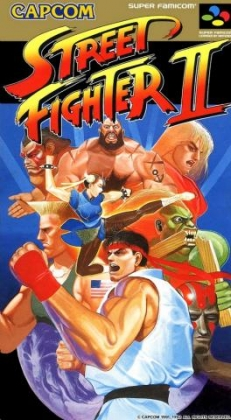 Street Fighter II [Japan] - Super Nintendo (SNES) rom download