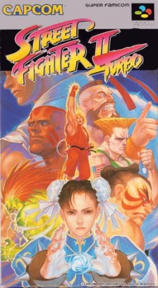 Street Fighter II Turbo [Japan] - Super Nintendo (SNES) rom download