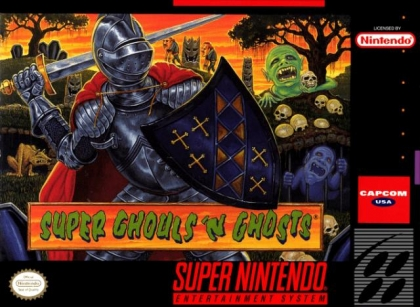 Super Ghouls'n Ghosts [USA] image