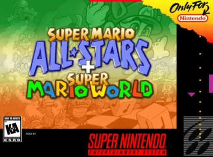 Super Mario All-Stars + Super Mario World [USA] - Super Nintendo
