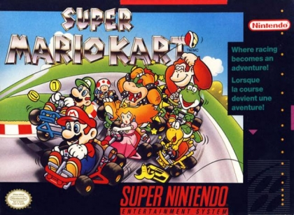Super Mario Kart [USA] - Super Nintendo (SNES) rom download