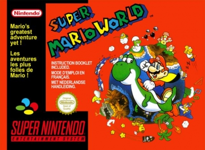 Super Mario World Europe Super Nintendo Snes Rom Descargar