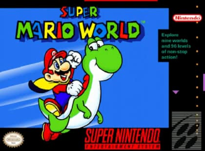 Super Mario World [USA] - Super Nintendo (SNES) rom download
