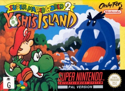 super mario world 2 yoshi s island snes Super Mario World 2 : Yoshi's Island [Europe] - Super Nintendo (SNES) rom  download | WoWroms.com