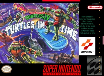 Teenage Mutant Ninja Turtles IV : Turtles in Time [Australia] image