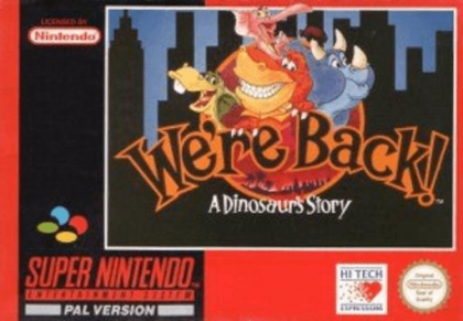 We're Back! : A Dinosaur's Story [Europe] image