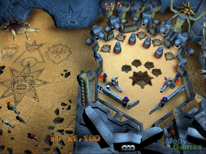 3-D ULTRA PINBALL: THE LOST CONTINENT image