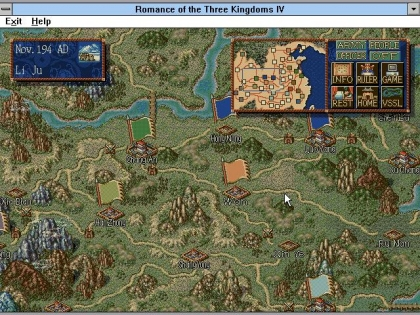 ROMANCE OF THE THREE KINGDOMS IV: WALL OF FIRE image