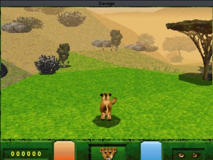 SAVAGE: THE ULTIMATE QUEST FOR SURVIVAL - Windows 3 x (Windows 3 1x