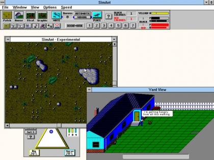 SIMANT: THE ELECTRONIC ANT COLONY - Windows 3 x (Windows 3 1