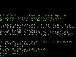 ADVENTURE E: THE GOLDEN APPLE image