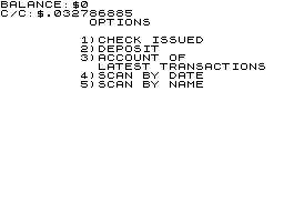 Checkbook Manager The image
