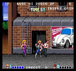 double dragon mame bootleg