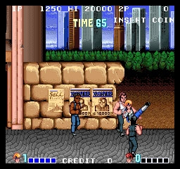 Double Dragon Us Set 1 Mame 0 139u1 Mame4droid Rom Download