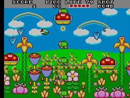 Fantasy Zone II - The Tears of Opa-Opa (MC-8123, 317-0057) image