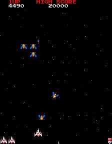 Galaga (Midway set 1 with fast shoot hack) image