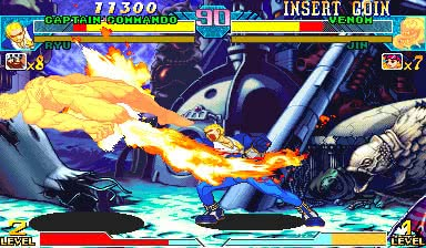 Marvel Vs  Capcom: Clash of Super Heroes (Euro 980112) - MAME 0 139