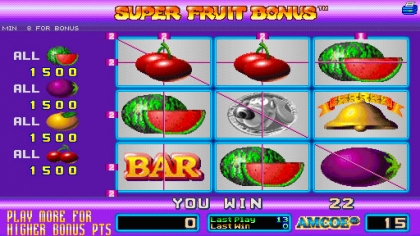 Super Fruit Bonus (Version 2.2B Dual) image