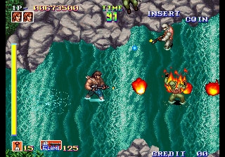 Shock Troopers (set 1) - MAME 0 139u1 (MAME4droid) rom download
