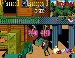 Sunset Riders (2 Players ver ABD) - MAME 0 139u1 (MAME4droid) rom