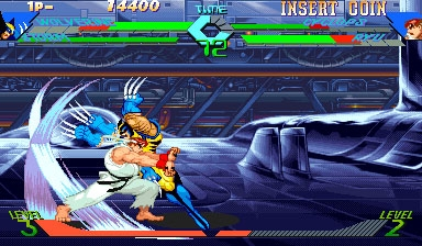 X-Men Vs. Street Fighter (USA 961004) image
