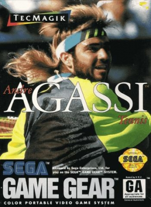 ANDRE AGASSI TENNIS [USA] image