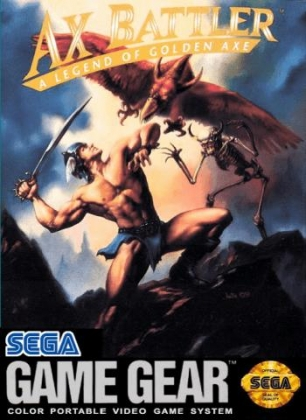 AX BATTLER : A LEGEND OF GOLDEN AXE [USA] image