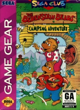 THE BERENSTAIN BEARS' CAMPING ADVENTURE [USA] image