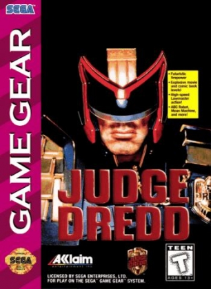 6554babce JUDGE DREDD  USA  - Sega Game Gear (GG) rom download