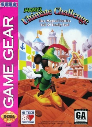 9ad49c368 MICKEY S ULTIMATE CHALLENGE  USA  - Sega Game Gear (GG) rom download ...