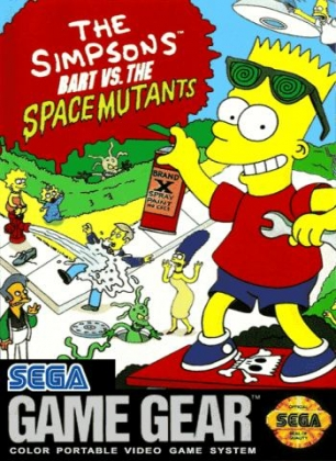 THE SIMPSONS : BART VS THE SPACE MUTANTS [USA] image