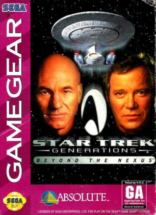 ec3bca148 Sega Genesis MegaDrive. STAR TREK   GENERATIONS   BEYOND THE NEXUS  USA   image