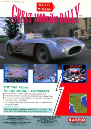 1000 MIGLIA: GREAT 1000 MILES RALLY image