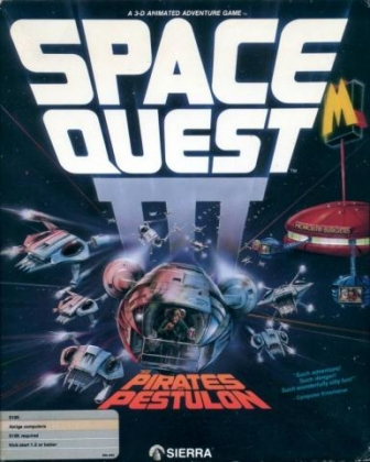 Space quest 3: the pirates of pestulon adventure for dos (1989.