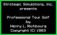 logo Emulators Professional Tour Golf