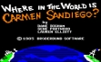 logo Emuladores Where in the World is Carmen Sandiego?